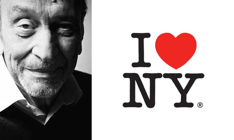 Milton Glaser, I Love NY logo