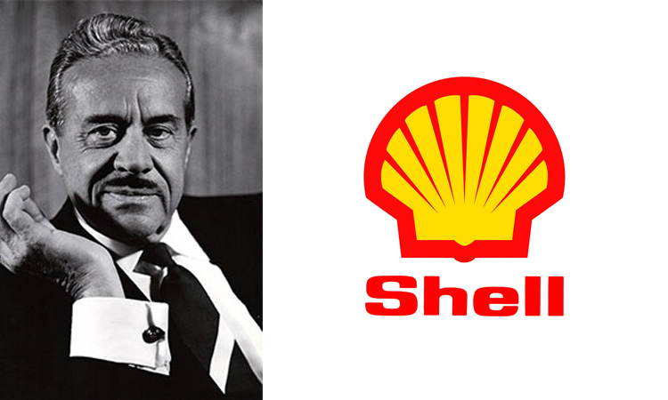 Raymond Loewy, Shell logo