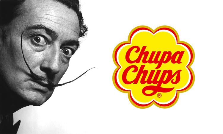 Salvador Dalí, Chupa Chups logo
