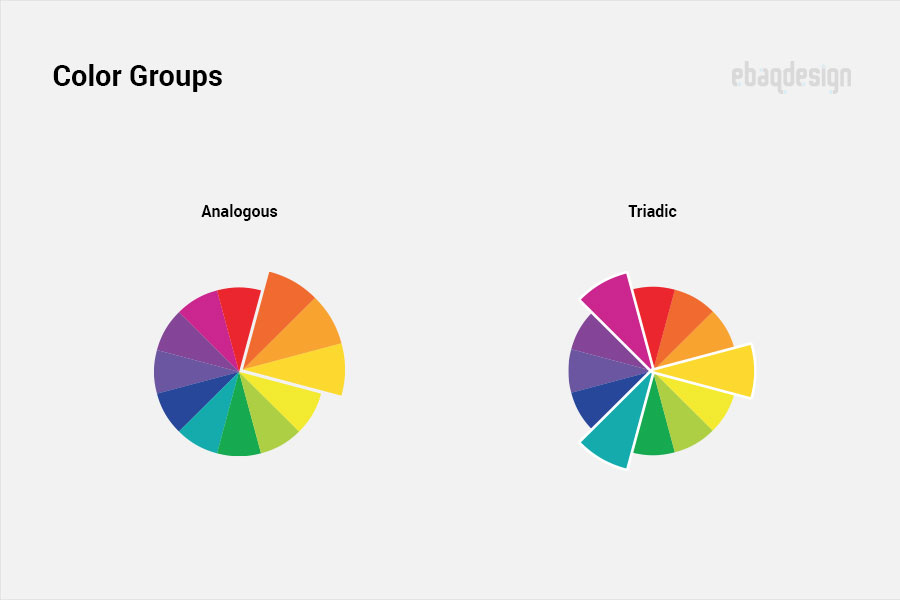 Groups of colors