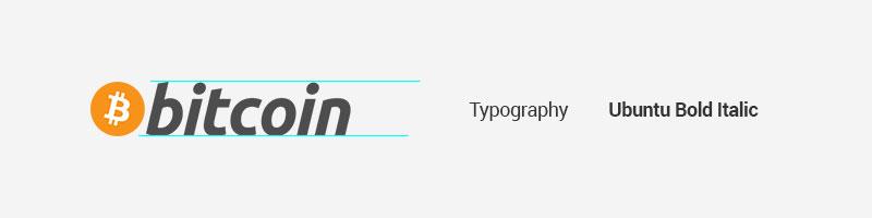 Bitcoin typeface