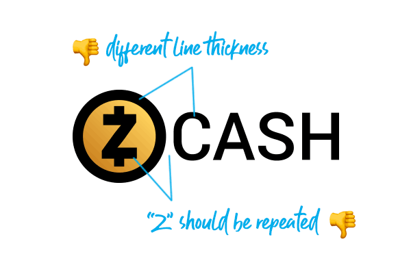 Zcash logo design analysis