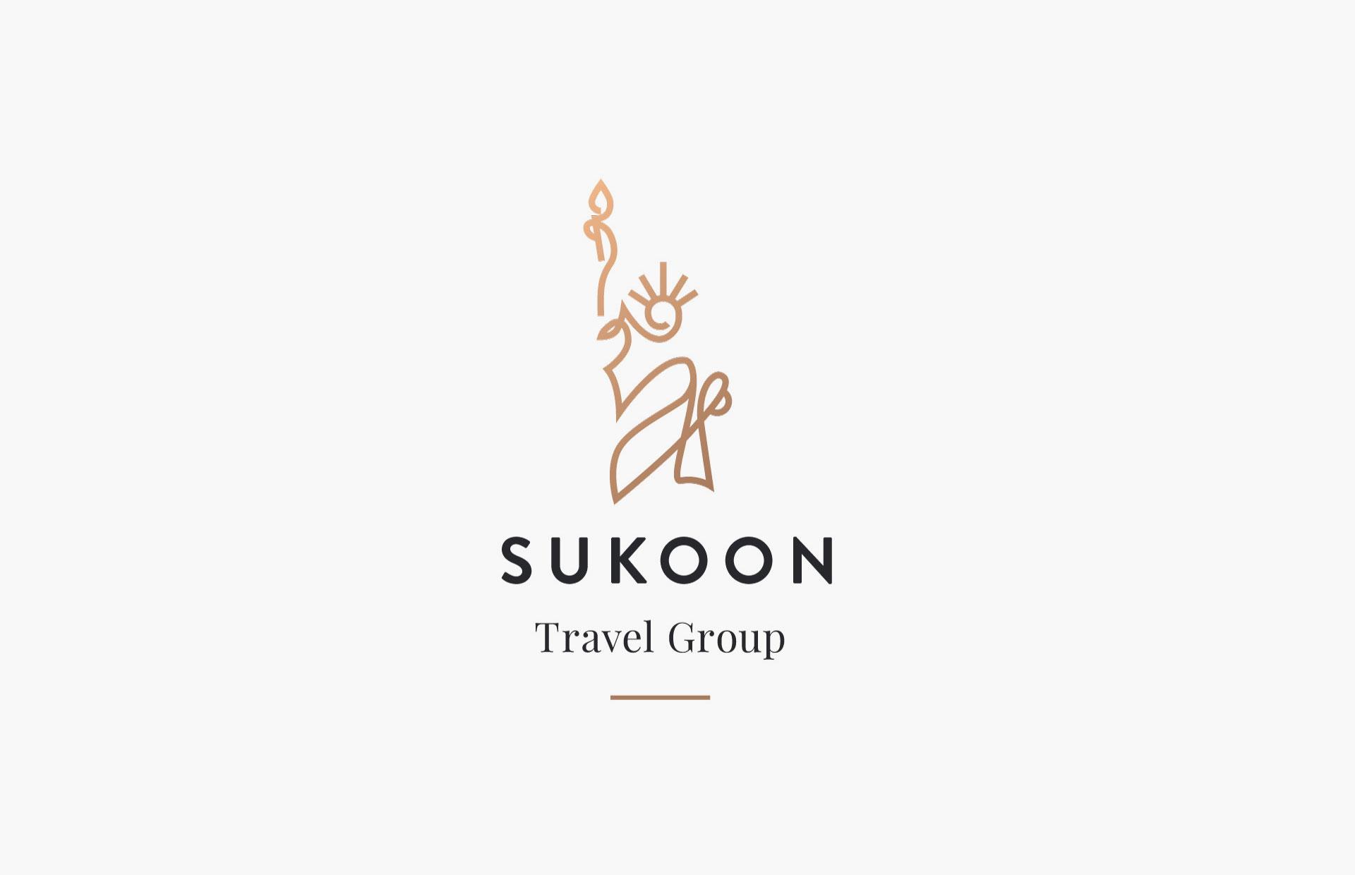Sukoon logo execution