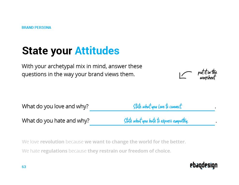 Brand Attitudes Template