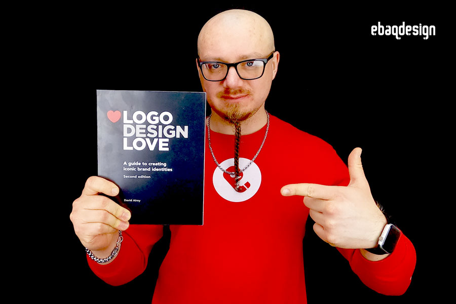 """Logo Design Love: A Guide to Creating Iconic Brand Identities"" by David Airey."