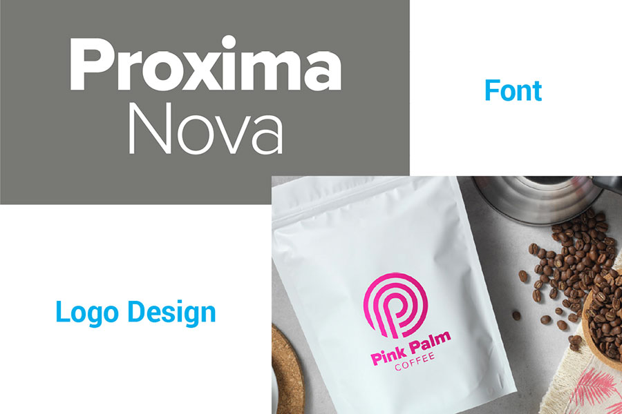 Proxima Nova in logo design