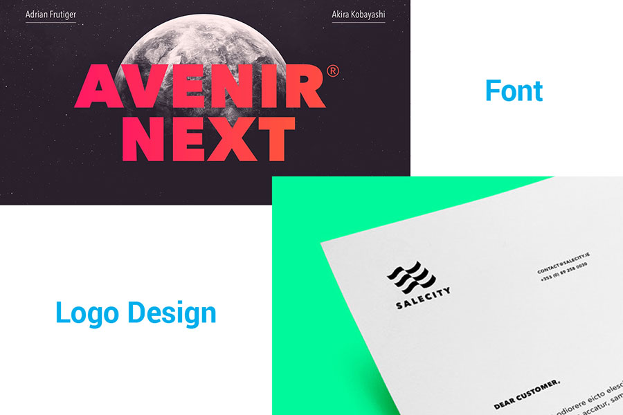 Avenir Next in logo design