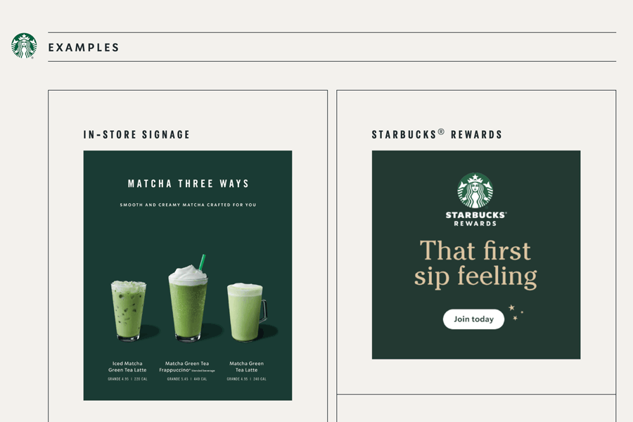 Starbucks Brand Guidelines