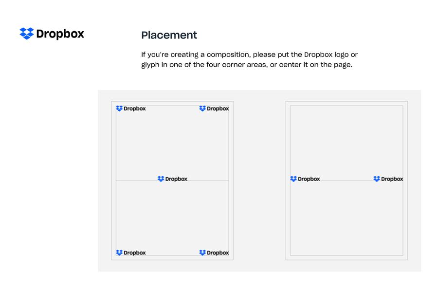 Dropbox Brand Guideline