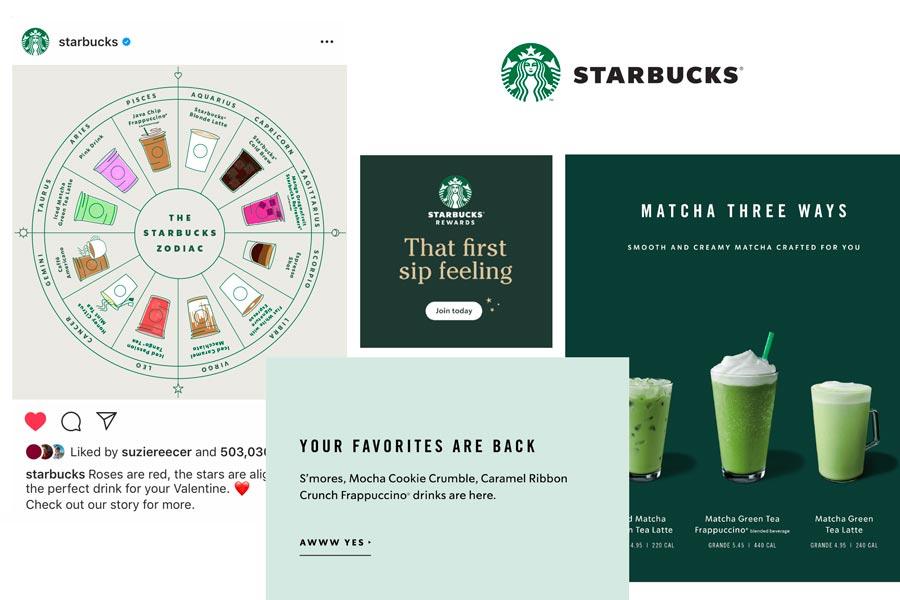 Starbucks brand voice