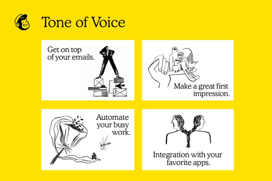 MailChimp brand voice