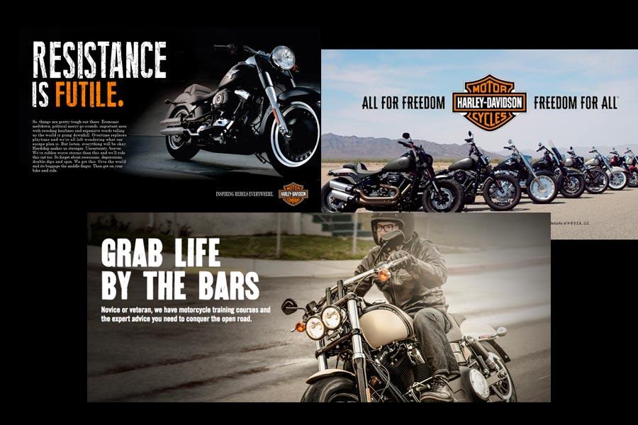 Harley-Davidson brand voice