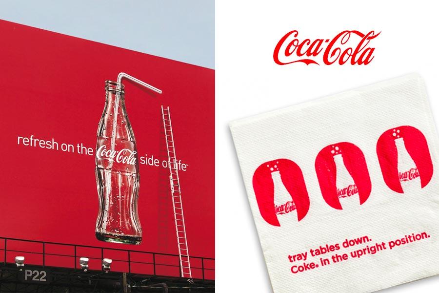 Coca-Cola brand voice
