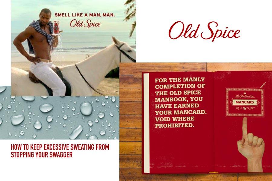 Old Spice brand voice