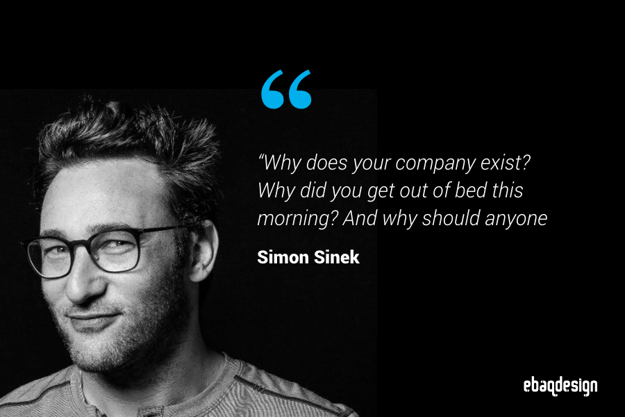 "Simon Sinek quote from ""Start With Why"" book"
