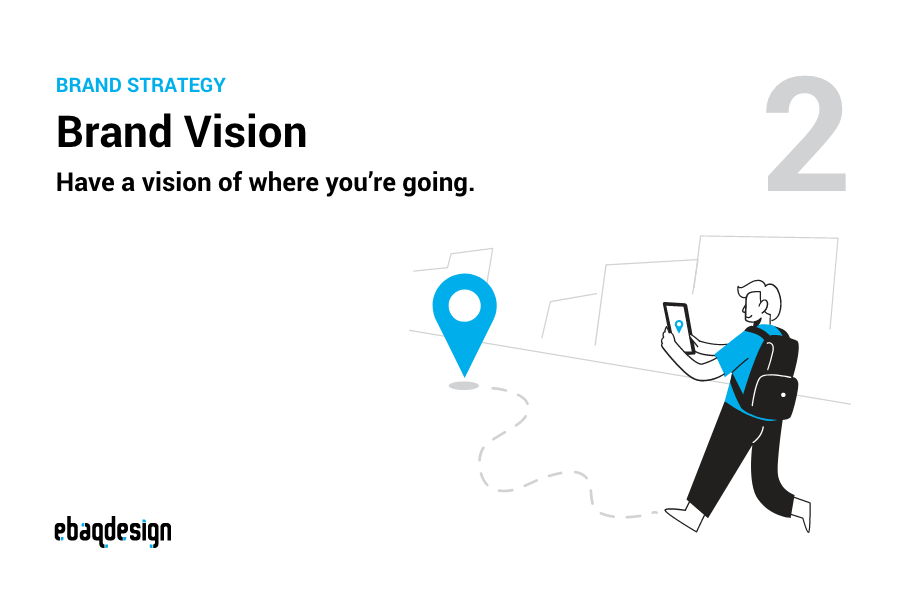 Brand Vision — Have a vision of where you're going.