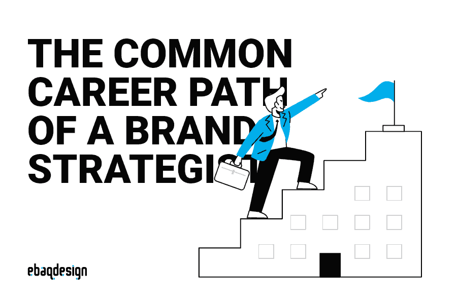 The common career path of a brand strategist