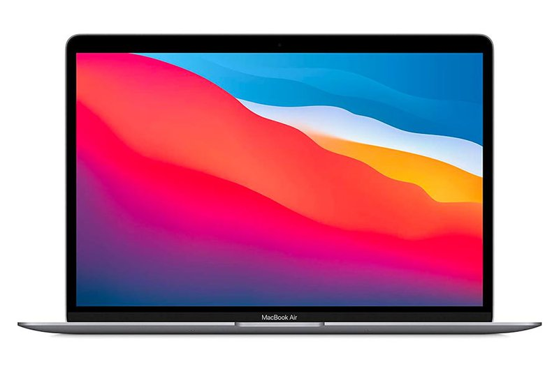 MacBook Air—The most inexpensive laptop for graphic design.