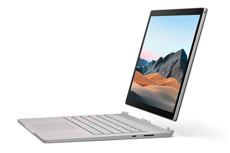 Microsoft Surface Book 3—The most versatile tablet (turns into a laptop).