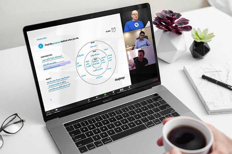 Running a brand strategy workshop online