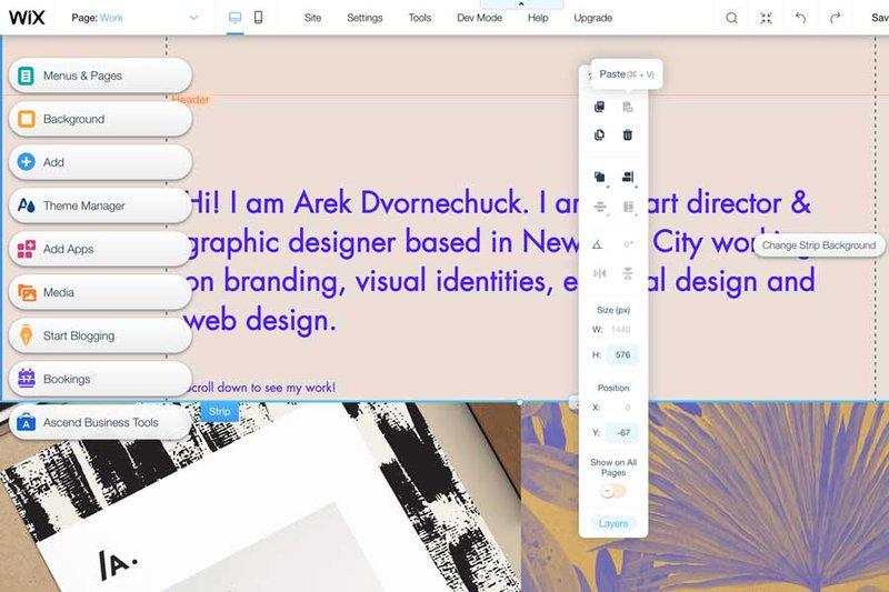 Wix—The most flexible website builder software online
