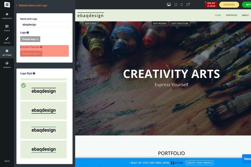 Site123—the easiest website builder software online