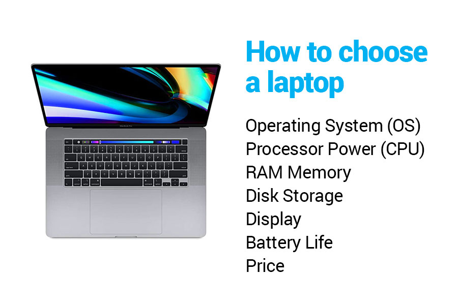How to choose a laptop.