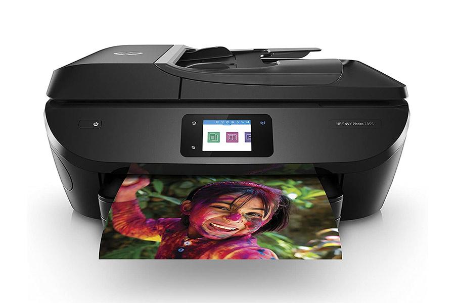 HP ENVY Photo 7855 - Most convenient printer for graphic designers