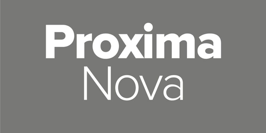 Proxima Font