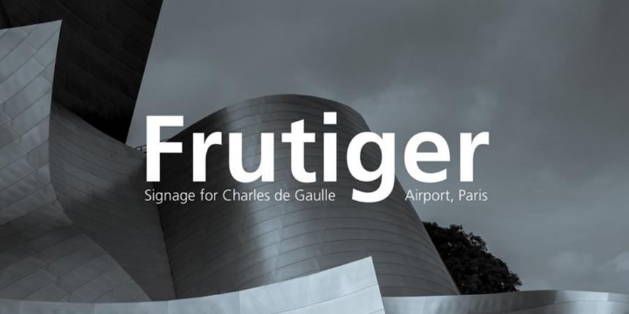 Fruitger Font