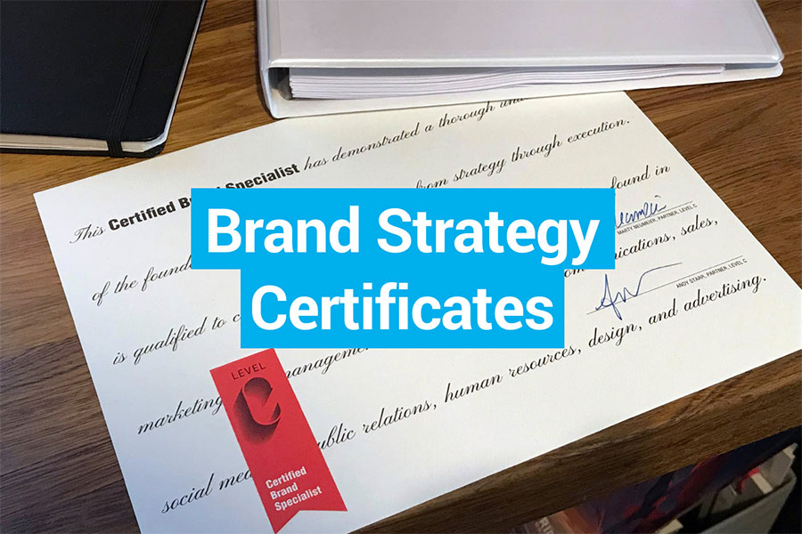 Top Brand Strategy Certificates