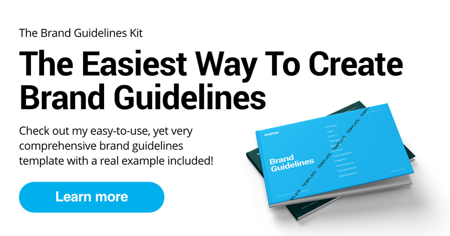 The Easiest Way To Create Brand Guidelines—The Brand Guidelines Kit.