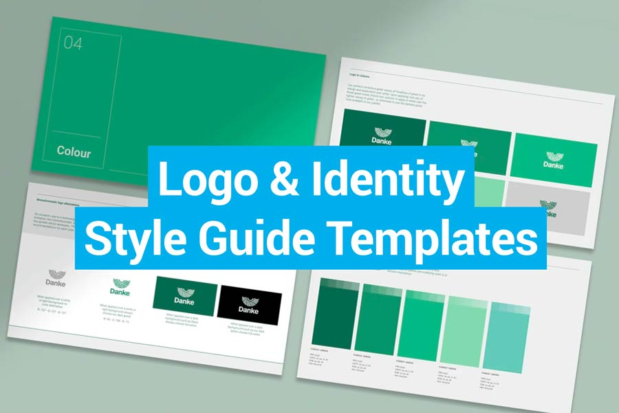 Best Logo & Identity Style Guide Templates