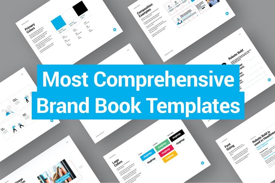 Most Comprehensive Brand Book Templates