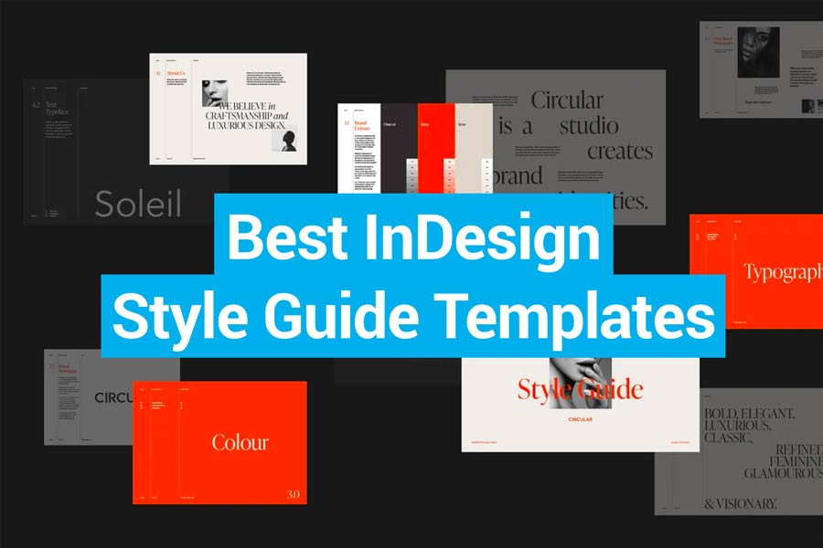 Best InDesign Style Guide Templates