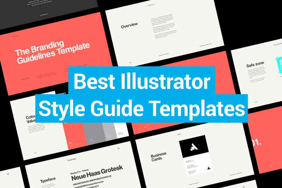 Best Illustrator Style Guide Templates