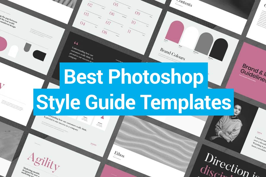 Best Photoshop Style Guide Templates