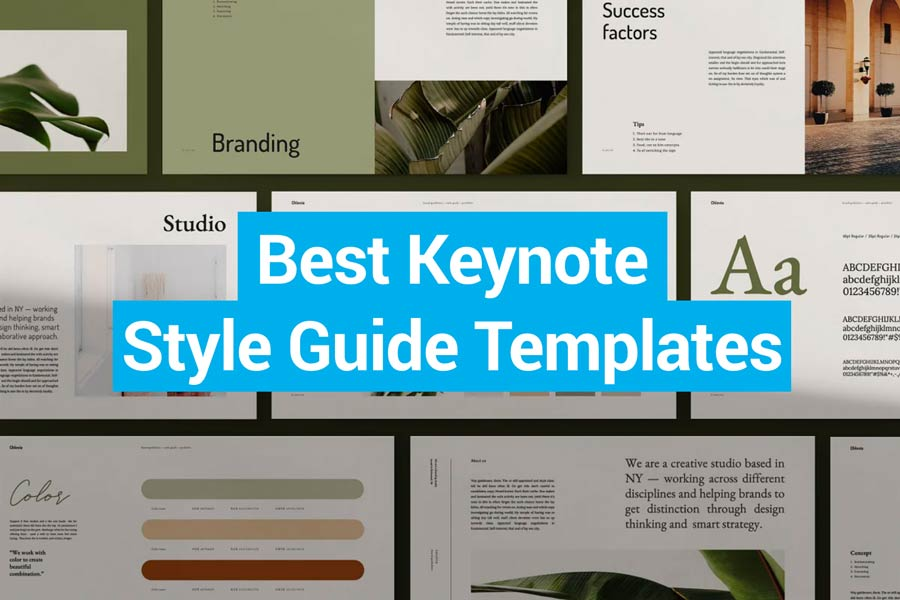 Best Keynote Style Guide Templates