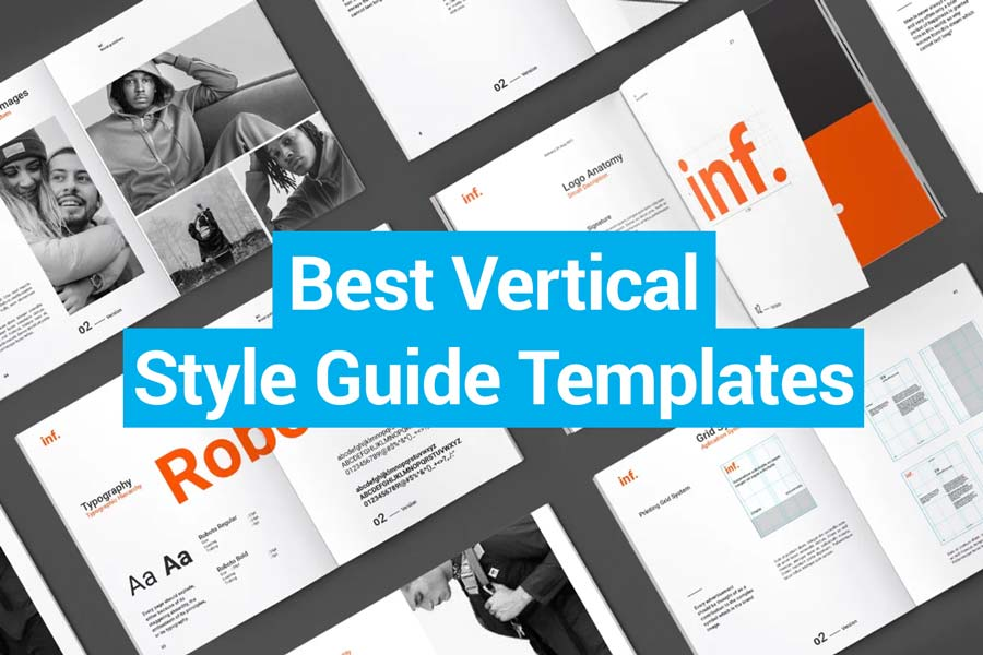 Best Vertical Style Guide Templates