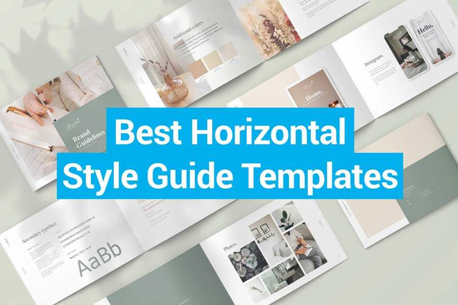 Best Horizontal Style Guide Templates
