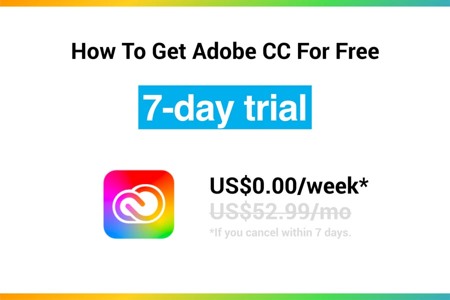 How To Get Adobe CC For Free
