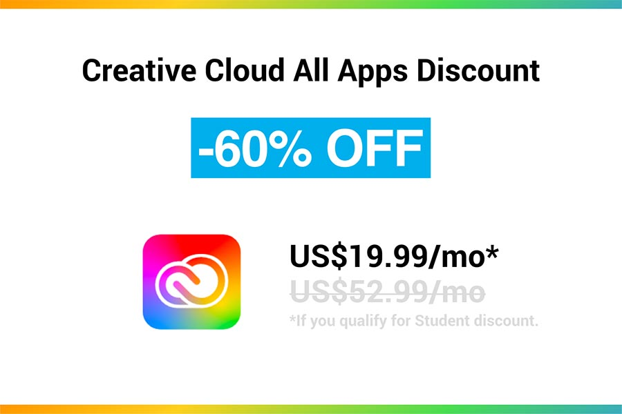 Creative Cloud All Apps Discount