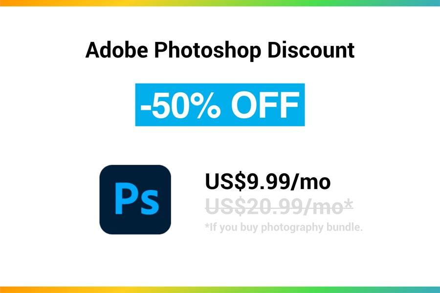Best Adobe Photoshop Discounts & Coupon Codes