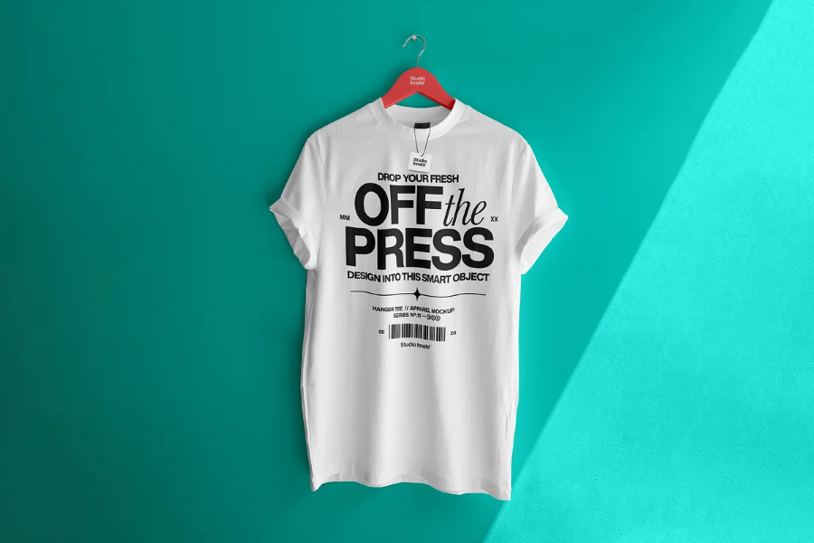Premium T-shirt Logo Mockups