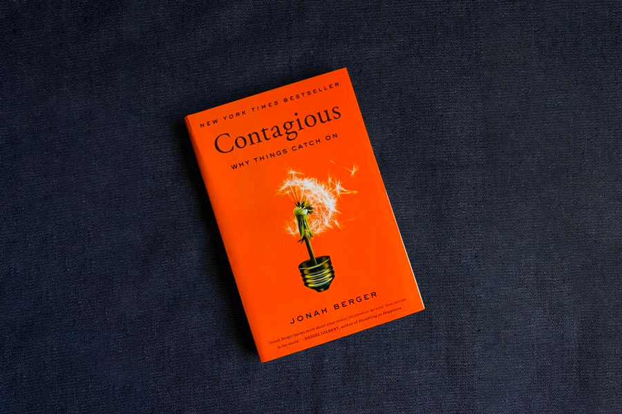Contagious by Jonah Berger—Learn ow to efficiently position your product or business for wide acceptability.