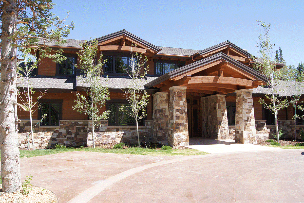 Luxury mountain mansion for sale salt lake city utah custom remodel massive windows