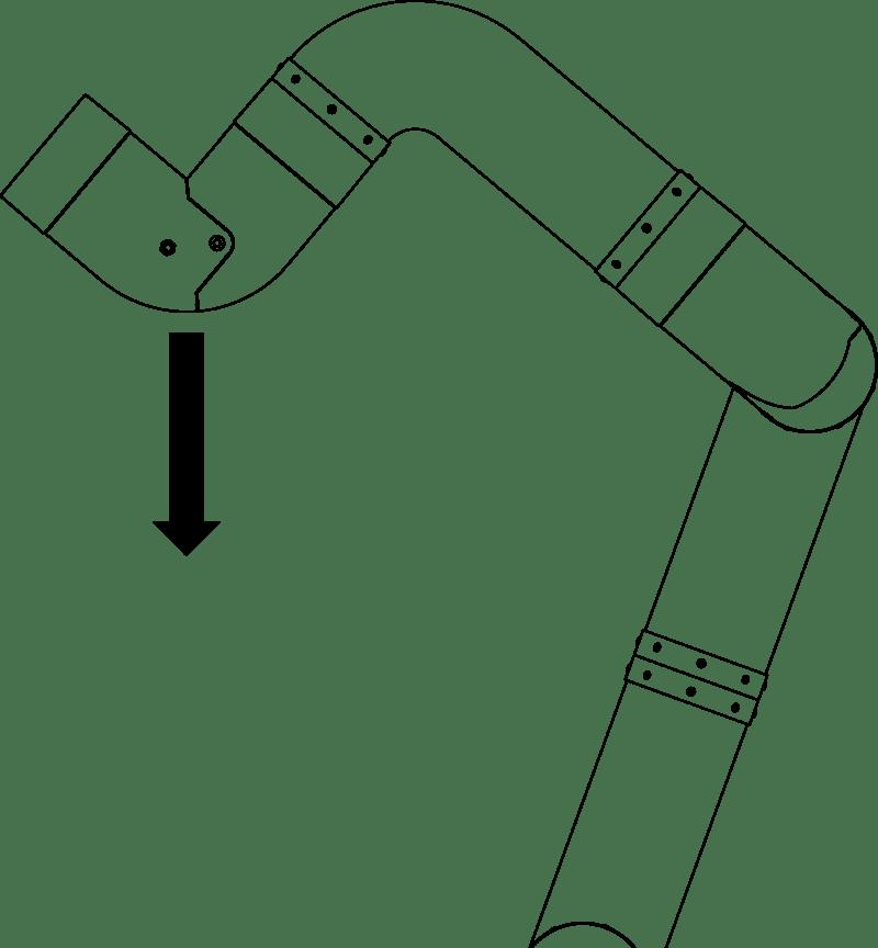 رسم بياني للتحميل على ذراع مـ 2