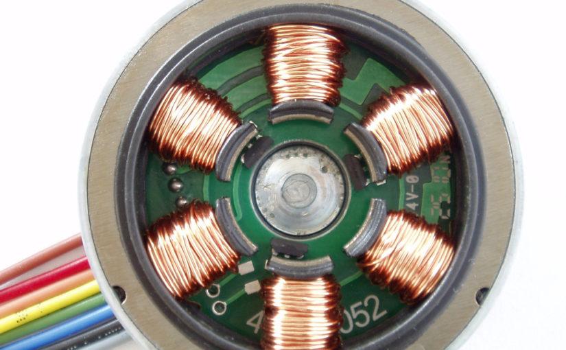 Brushless motor inner windings