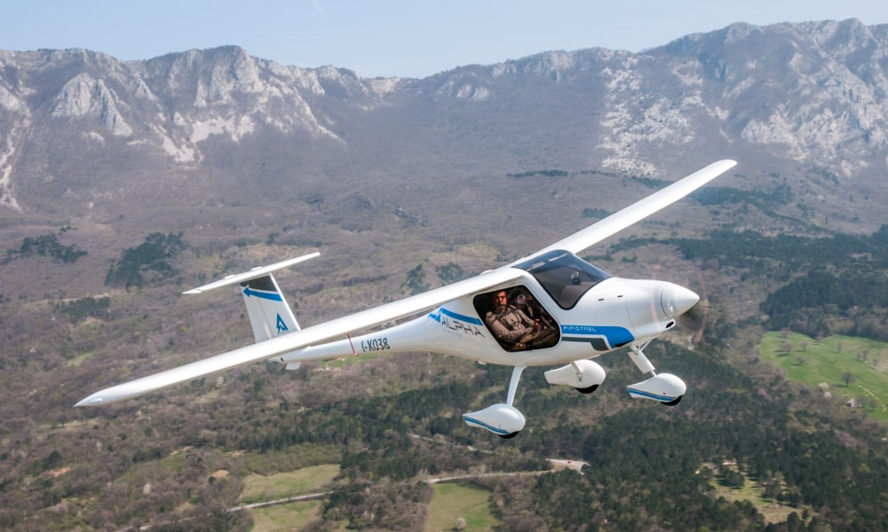 Alpha Electro electric aircraft currently in service