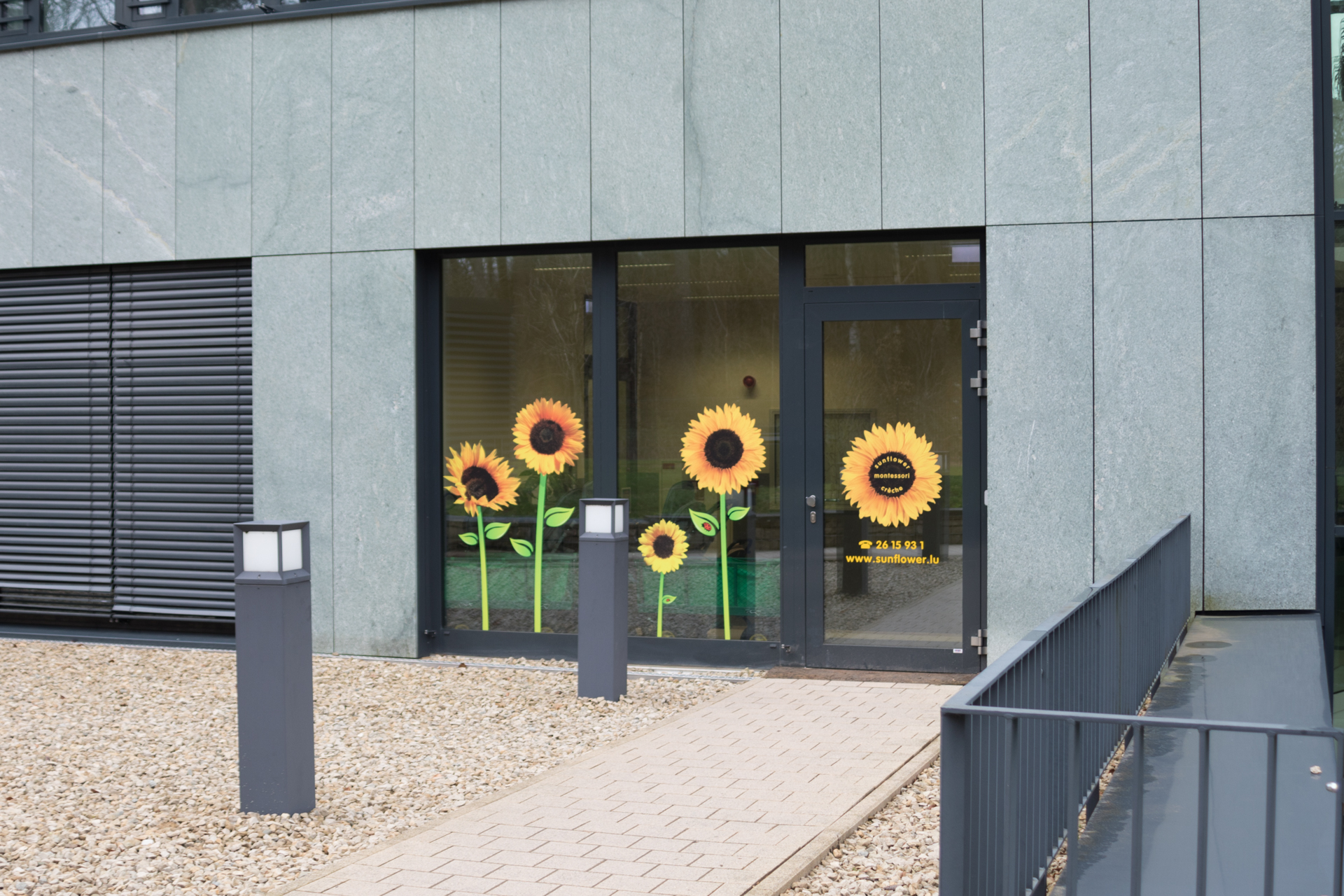 sunflower montessori crèche Luxembourg eagle building